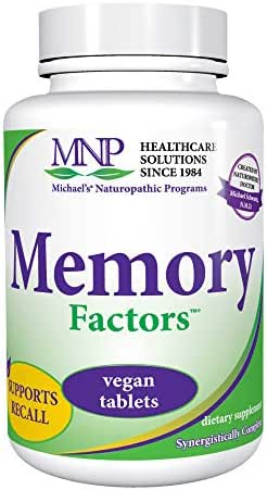 Michael's Naturopathic Programs Memory Factors - 90 Vegan Tablets - Provides Nourishment for The Various Aspects of Memory & Cognition - Vegetarian, Gluten Free, Kosher - 30 Servings