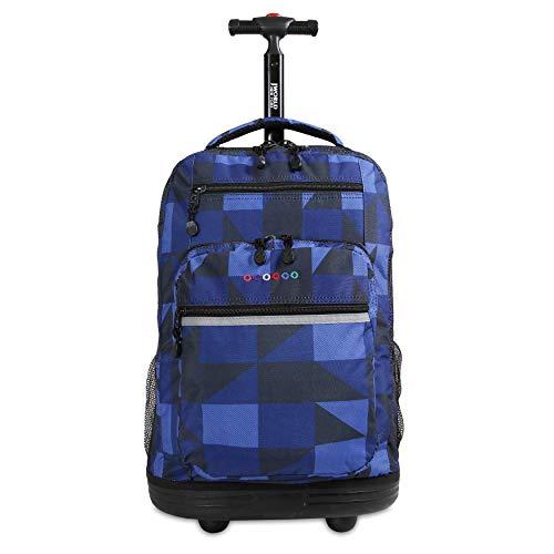 J World New York Sundance Rolling Backpack and