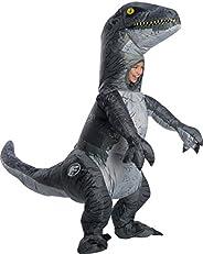 Jurassic World Velociraptor Blue Inflatable Child Costume