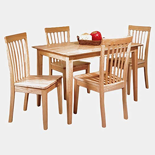 Wood Dining Table - Rectangular Dining Table - Maple