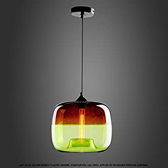 Modeen Kreative Uberzug Decke Pendelleuchte Bunte Apfel Form Glas