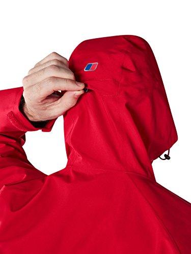 berghaus Hombre Chaqueta 2 Rojo Paclite Haute Impermeable 0 Red q4qPw7