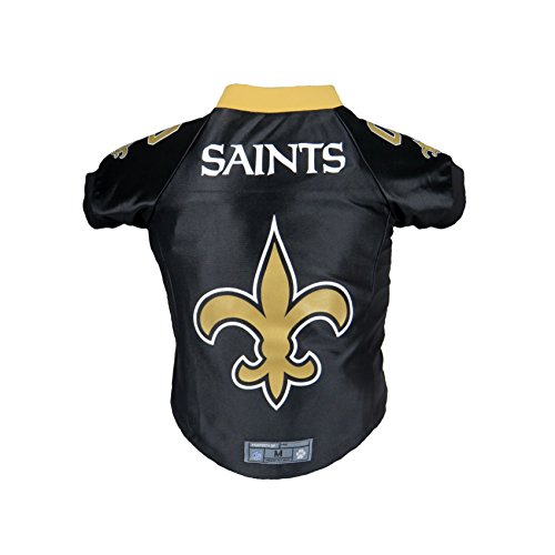 Littlearth NFL New Orleans Saints Premium Pet Jersey, Medium