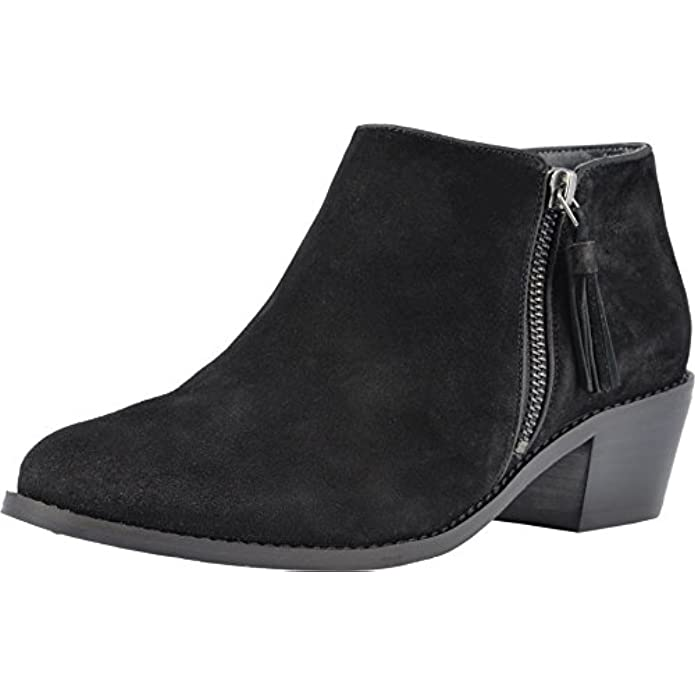Vionic Women's Joy Serena Ankle Boot - Ladies Everyday Boots with Concealed Orthotic Arch Support