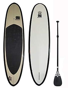 HONU Stand Up Paddle - Tabla de Sup con Cobre Ajustable - Sup Bamboo Top: Amazon.es: Deportes y aire libre