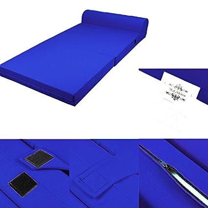Cool Amazon Com Blue Foam Seat Mattress Sleeper Chair Folding Creativecarmelina Interior Chair Design Creativecarmelinacom