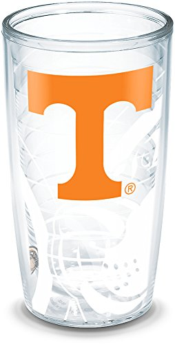 (Tervis 1289459 Tennessee Volunteers Tumbler with Wrap, 16oz, Clear)
