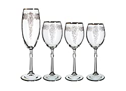 48 Pieces Crystal Glassware