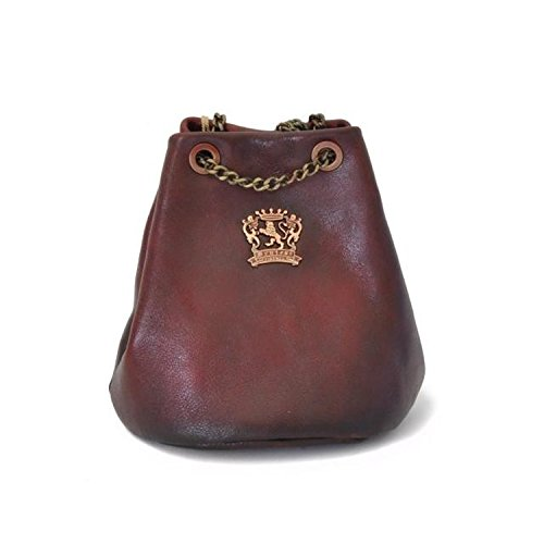 Pienza Pratesi Leather Bag - B159 Bruce (violet) Chianti