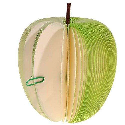 Fruit Memo Pad: Green Apple