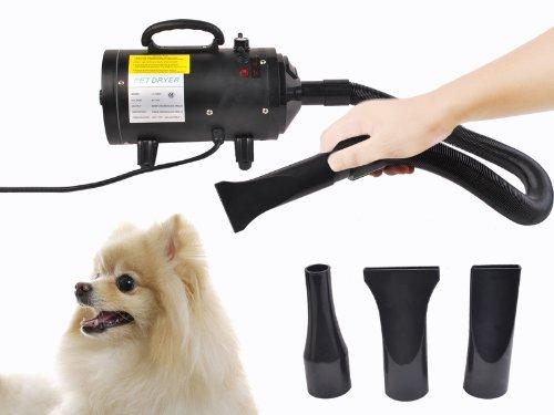 Goplus  Portable Dog Cat Pet Groomming Blow Hair Dryer Qu...