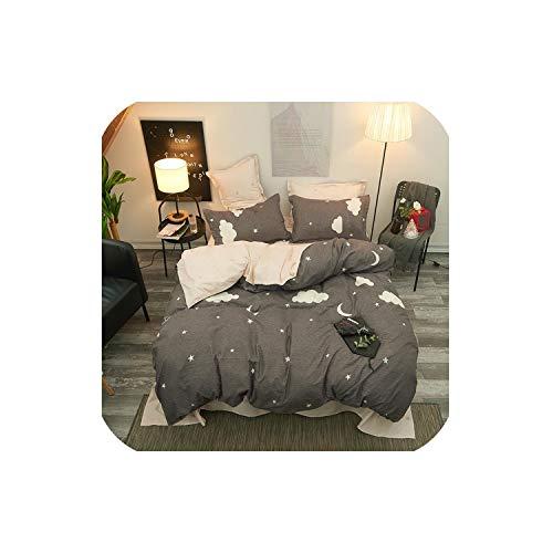 - LOVE-JING Green Cactus Sheet Pillowcase Duvet Cover Set New Pastoral Bedding Set Modern Bed Linen Autumn Bedclothes 3/4Pcs /Set Kids Set,12,Full 4Pcs