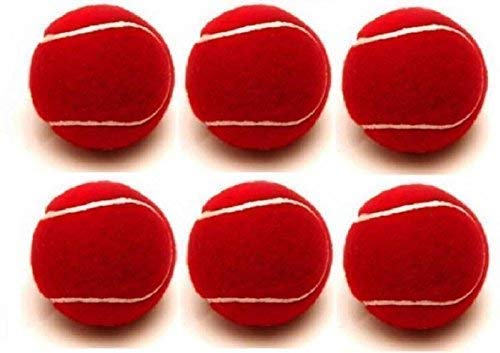 PS ENTERPRISES Waterproof Cricket Tennis Ball Pack of 6 Balls