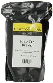 Elmwood Inn Fine Teas, Iced Tea Nilgiri Blend, 16-Ounce Pouch