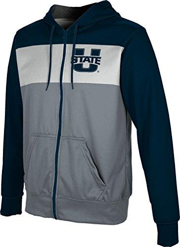 (ProSphere Utah State University Men's Full Zip Hoodie - Prime FD2D1 (Large) )