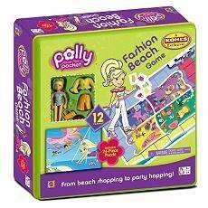 Polly Pocket Fashion Beach Game Tin by Mattel