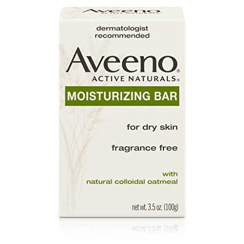 - Aveeno Gentle Moisturizing Bar Facial Cleanser with Nourishing Oat for Dry Skin, Fragrance-free, Dye-Free, & Soap-Free, 3.5 oz