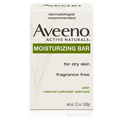 - Aveeno Gentle Cleansing Moisturizing Bar, 3.5 Oz