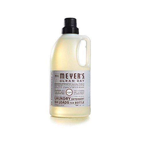2 セーバーパッケージ:Meyers 2 xラベンダーランドリー洗剤 (6 x64オンス) B00NJ6PEFI