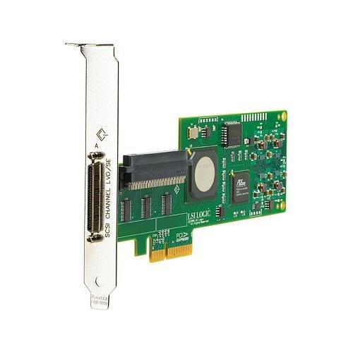 HP 412911-B21 SC11Xe Single Channel Ultra 320 SCSI Controller PCI Express x4 Up to 320MBps 1 x 68-pin VHDCI mini-Centronics Ultra320 SCSI SCSI External, 1 x 68-pin HD-68 Ultra160 SCSI SCSI Internal