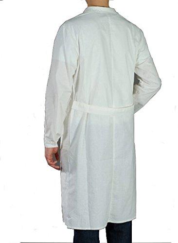 Bata blanca de laboratorio, 100% algodón, para química, farmacia, medicina, higiene blanco XXL : Amazon.es: Ropa y accesorios