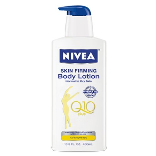 Nivea Skin Firming Hydration Body Lotion with Q10 Plus, 13.5 fl oz  (Pack of 2)