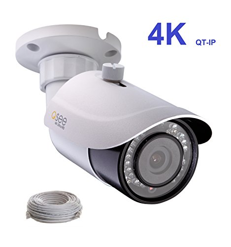 Q-See 4K (8MP) QT-IP Camera IP Ultra-HD with H.265 (QTN8086BA)