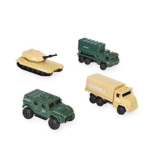 True Heroes Sentinel 1 Die Cast Military Vehicles - 4 Pack