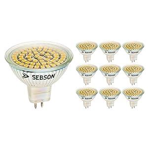 sebson led lampe gu5 guter ersatz f r 35 w halogenlampe. Black Bedroom Furniture Sets. Home Design Ideas
