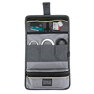 Travelon Urban Tech Accessory Organizer, Slate, One Size