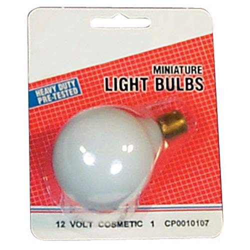 Camco 54707 20-99 Frosted Replacement Vanity Light Bulb