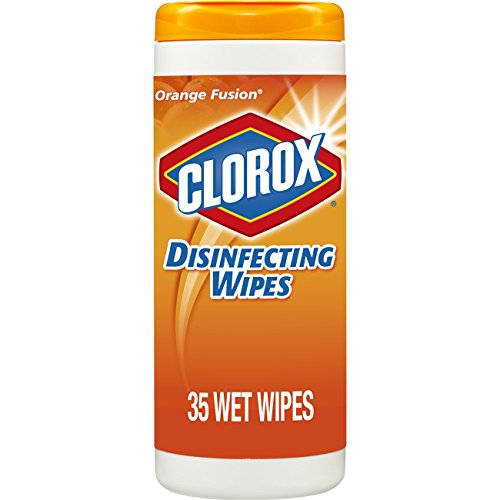 Clorox Disinfecting Wipes, Bleach Free Cleaning Wipes - Orange Fusion, 35 Count (Pack of 12) (Packaging May Vary) by Clorox (Image #10)