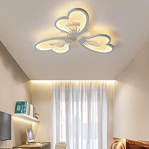 Led-plafondlamp, woonkamer, keuken, bar, trap, werkkamer, plafondlamp, bloemblad-vormige decoratieve plafondlamp, acryl…