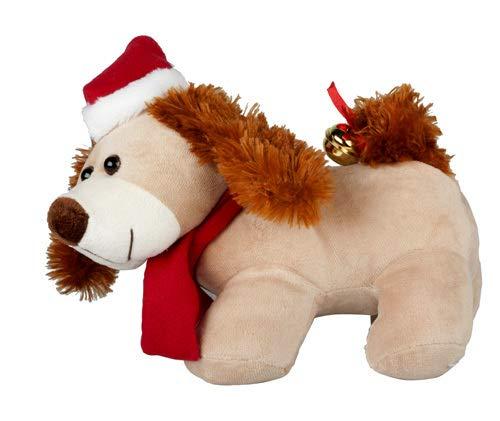 Lotto 6 - cane cartone animato peluche e cantare `30 centimetri Christmas` - Qualità COOLMINIPRIX®
