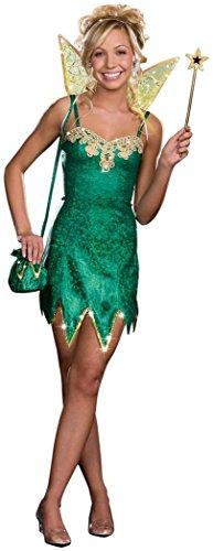Pretty Pixie Teen/Junior Costume - Teen (Tinkerbell Costume Teens)