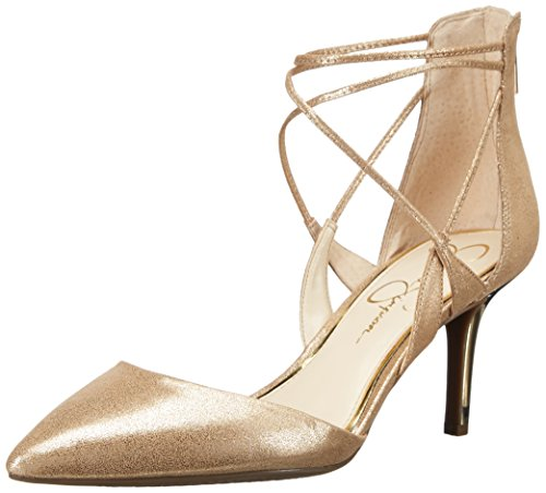 outlet get to buy Jessica Simpson Women's Piah Pump Gold free shipping latest real sale online H7JNu24