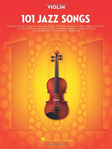 101 Jazz Songs for Violin - Jazz Violin Music