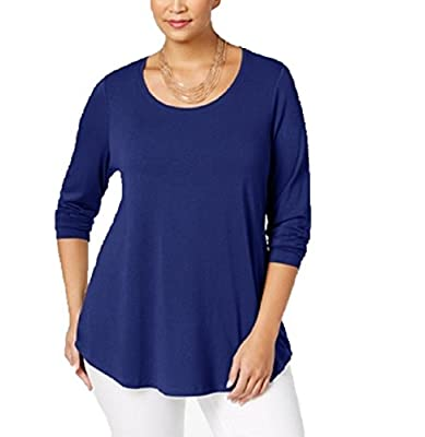 NY Collection Plus Size Ruffled Off-The-Shoulder Top 1X