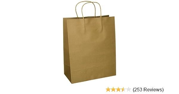 Amazon.com  Craft Gift Bags ~ Brown Paper 1 Dozen - 10