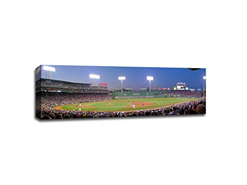 Fenway Park - Red Sox v. Rangers MLB Canvas - Red Sox Rangers