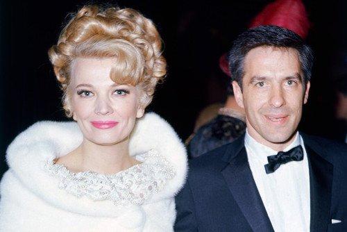 Gena Rowlands y su esposo