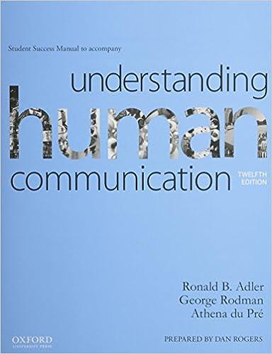Understanding human communication student success manual ronald b understanding human communication student success manual 12th ed edition fandeluxe Choice Image