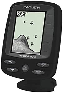Eagle cuda 300 fishfinder sports outdoors for Amazon fish finder
