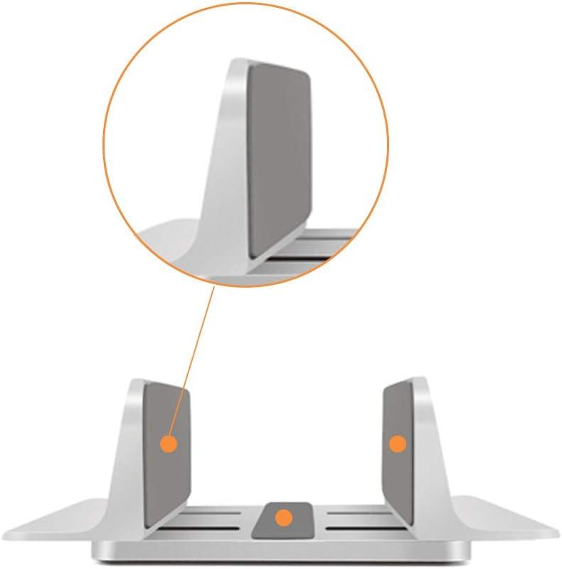 Houkiper Soporte Vertical Portátil, Aluminio Portátil Soporte Vertical Que Ahorra Espacio para Macbook Pro Air, Lenovo y Otros Portatiles: Amazon.es: Hogar