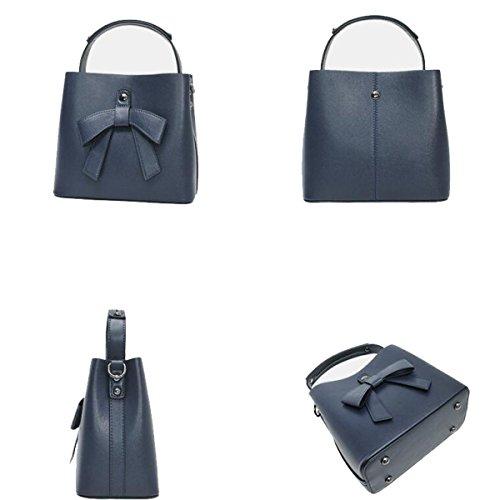 Portable Bandoulière Pour Femmes winered Blue À Sac 567wqvIF