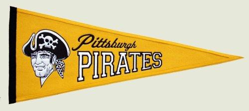 (MLB Pittsburgh Pirates Medium Throwback Pennant)