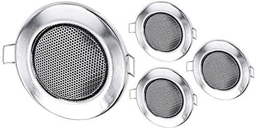 4 Pack – Empotrable Para Altavoces Completo Metal 3 W – Diámetro ...
