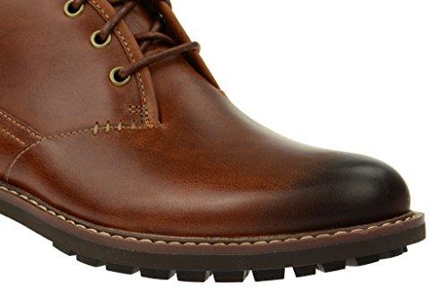 Clarks Montacute Duke - Botas clásicas para hombre marrón