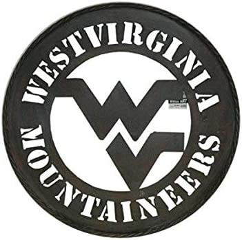 Home Decor Canvas Wall Art Sports Themed West Virginia Mountaineers College NCAA