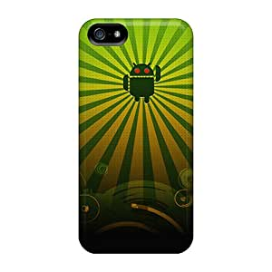 New VWV47260PrfZ Droid Green Covers Cases For Iphone 5/5s